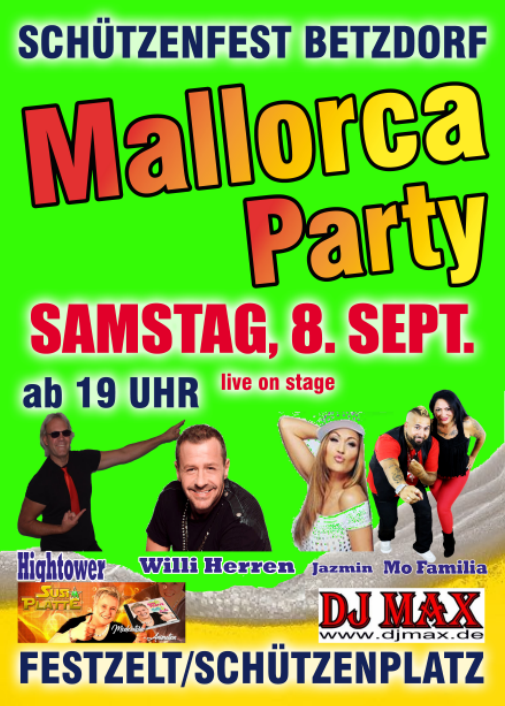 Malleparty BSV 2018